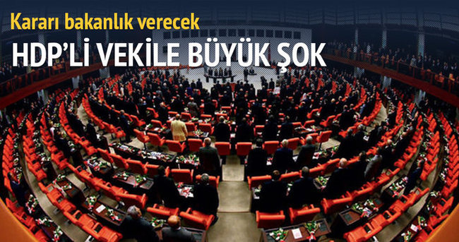 HDP'li Pir hakkındaki fezleke bakanlığa gönderildi