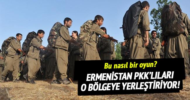 Ermenistan PKK'lıları Karabağ'a yerleştiriyor!