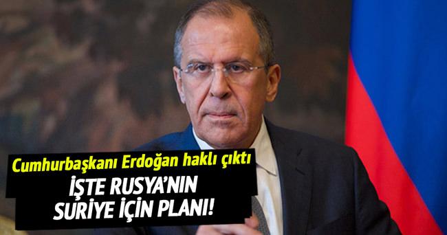Rusya'dan skandal Suriye planı!