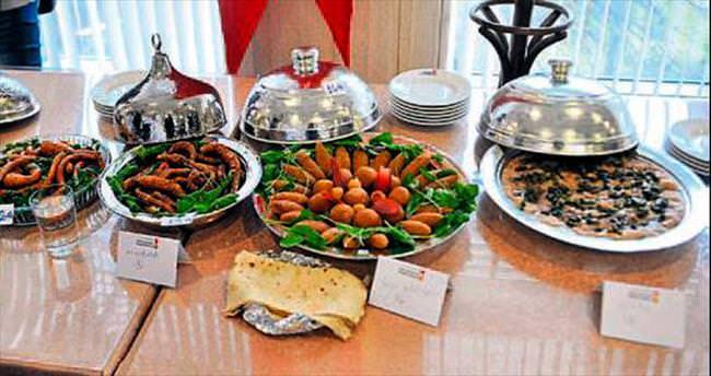 Kahramanmaraş'ta yemekler yarıştı