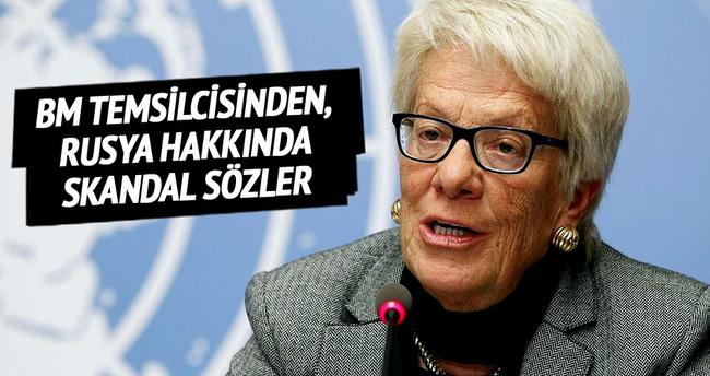 BM temsilcisinden, Rusya hakkında skandal sözler