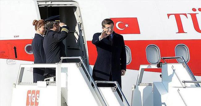 Başbakan Davutoğlu, Hollanda'ya gitti