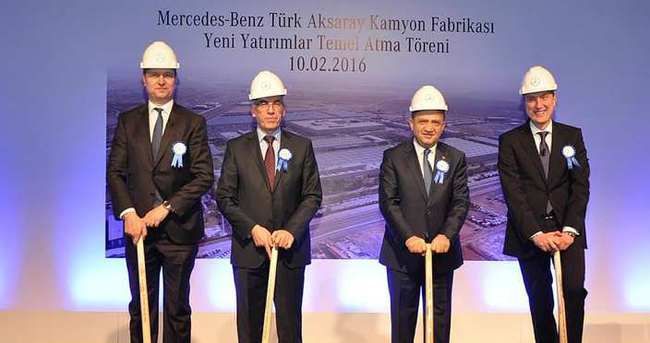 Mercedes-Benz fabrikasının temeli atıldı