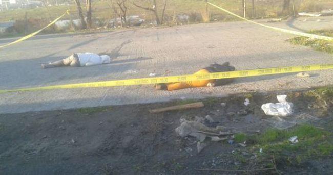 İstanbul'un göbeğinde çifte infaz
