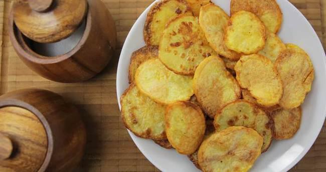 Fırında Patates Cipsi Nasıl Yapılır?