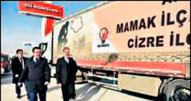 Mamak'tan Cizre'ye kardeş eli uzanıyor