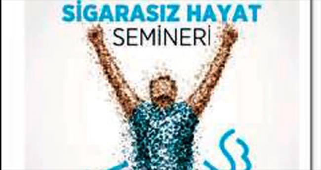 İzmir'de 'Sigarasız hayat' semineri