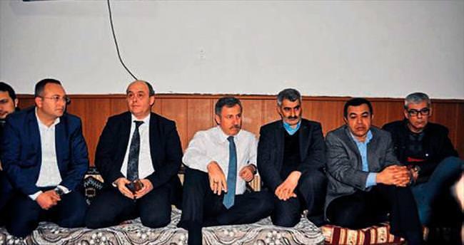 Turgutlu'da şehit ailesine ev sözü