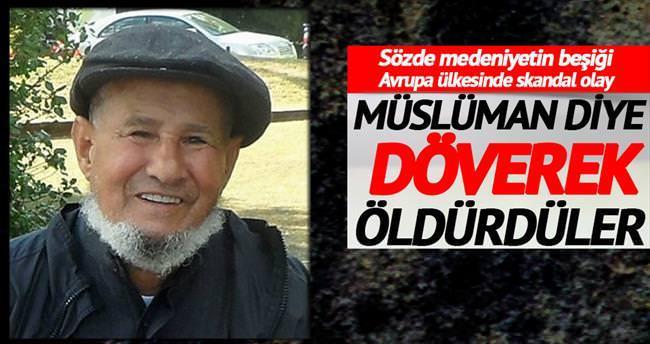 Müslüman olduğu için döverek öldürmüşler