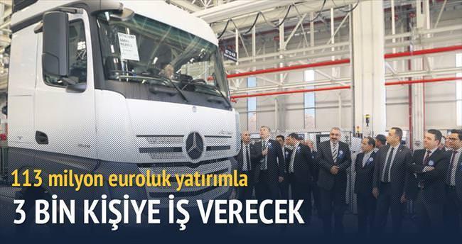 Mercedes 3 bin kişiyi istihdam edecek