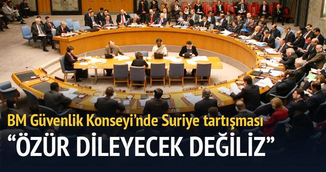 BM Güvenlik Konseyi'nde Suriye tartışması