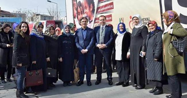 Beyoğlu Belediyesi'nden Suriyeli mültecilere yardım eli