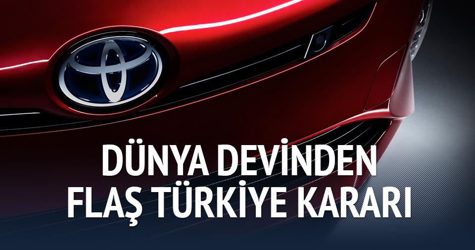 Toyota'dan Türkiye'ye yeni yatırım