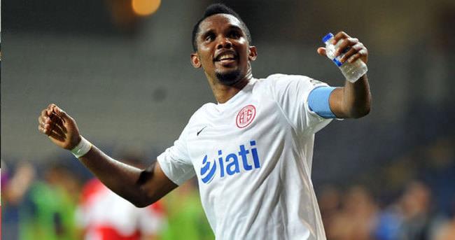Eto'o, Süper Lig'de 5 takıma gol atamadı