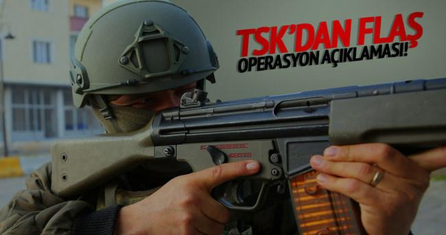 TSK'dan 'Cizre' açıklaması