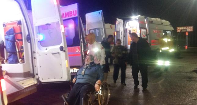 Hasta ziyaretinden dönen otomobil kaza yaptı: 1 ölü