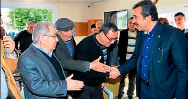 Başkan Çetin'den emeklilere müjde