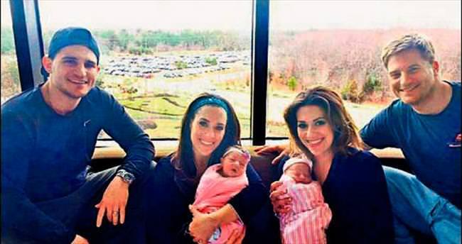 İkizler aynı anda doğurdu