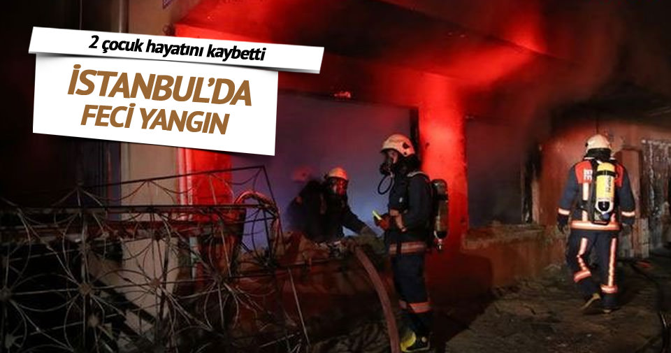 Zeytinburnu'da feci yangın
