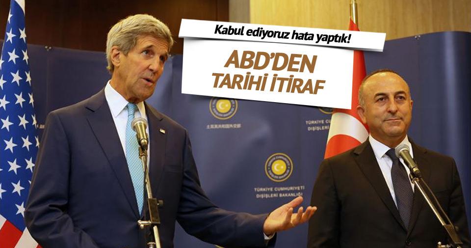 Çavuşoğlu: ABD hatasını anladı