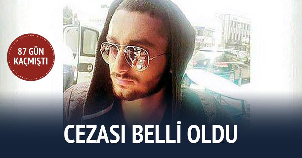 Çiçekçi Mehmet Emin Kaya'yı öldüren Murathan Öztürk'e 7 yıl hapis cezası