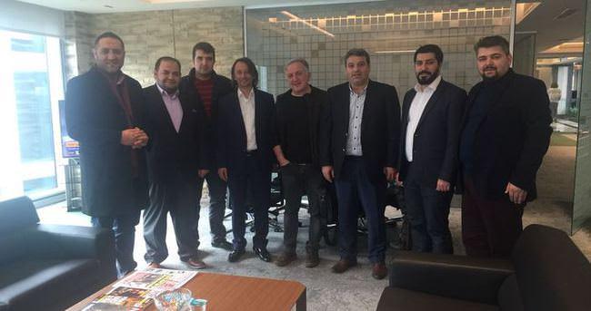 MD Dijital Platform'dan Yeni Şafak'a ziyaret