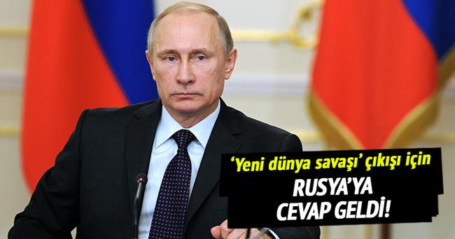 Mehmet Ali Şahin'den Rusya'ya cevap geldi!