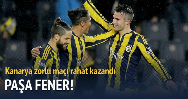 Fenerbahçe zorlu Kasımpaşa virajını rahat geçti