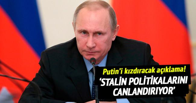 'Rusya, Stalin politikalarını canlandırıyor'