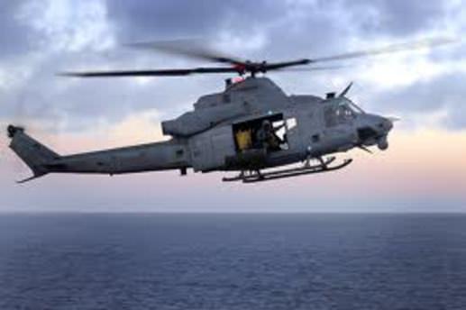 Denize düşen kişi helikopterle kurtarıldı
