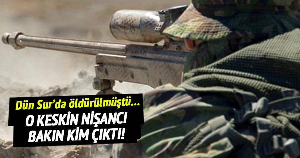 İşte Sur'da öldürülen PKK'lı keskin nişancı!