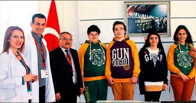TEOG Türkiye birincisi Gündoğdululara ödül