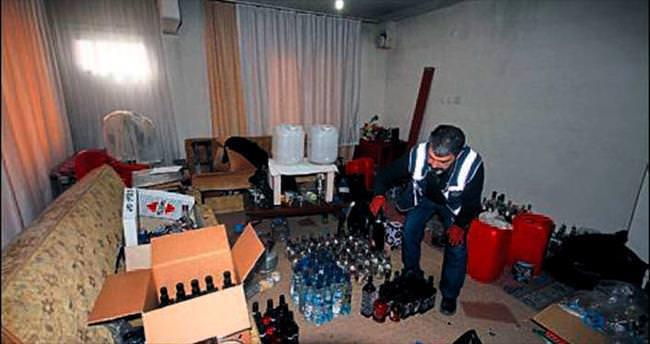 Polisten ikinci içki operasyonu