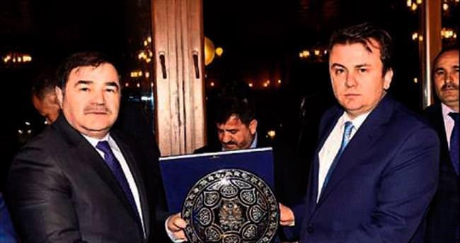 Aydın'dan Başkan Erkoç'a ziyaret