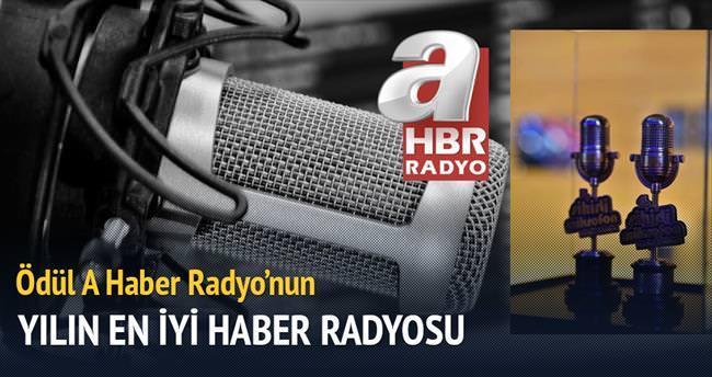 Yılın en iyi haber radyosu: aHaber Radyo