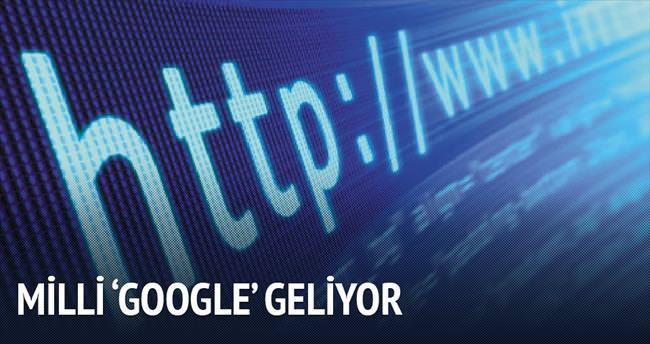 Milli 'Google' geliyor