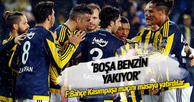 Yazarlar Fenerbahçe-Kasımpaşa maçını yorumladı