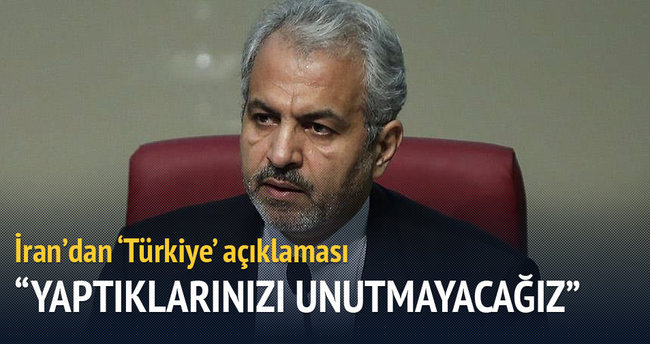 Flaş 'Türkiye' açıklaması: Yaptıklarını unutmayız