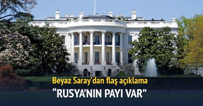 Beyaz Saray'dan Rusya'ya suçlama