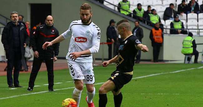 Torku Konyaspor: 0 - Osmanlıspor: 0 (İlk yarı)