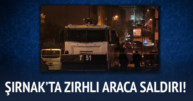 Şırnak'ta zırhlı araca saldırı: 4 yaralı