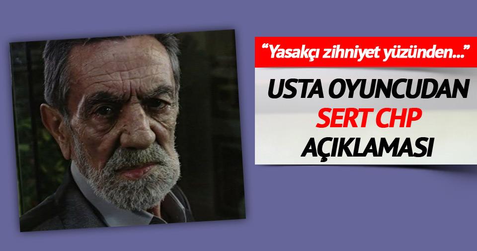 'CHP'nin yasakçı zihniyeti yüzünden partiden soğudum'