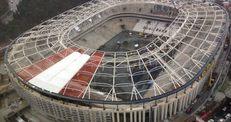 Vodafone Arena'da çatı şoku!