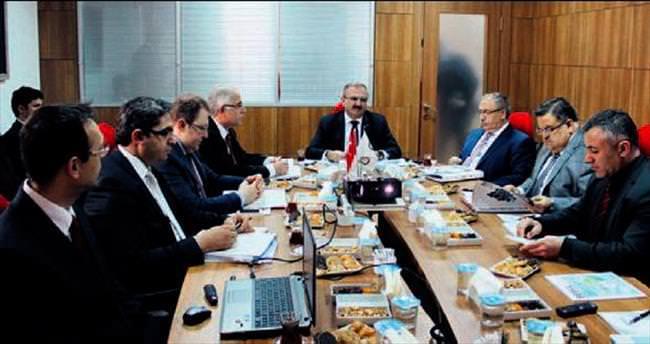 BEBKA yönetimi Bilecik'te toplandı