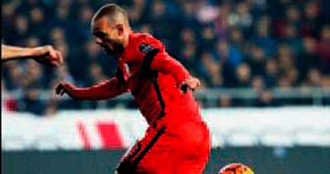 Sneijder çıldırdı: beni çıkartın