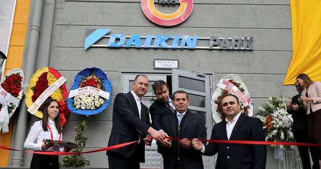 Galatasaray, yeni salonuna kavuştu