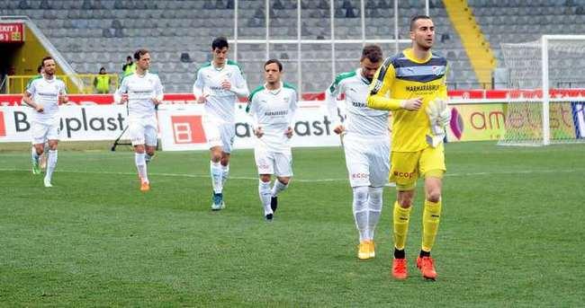 Bursaspor'da 13 milyon TL'lik fiyasko