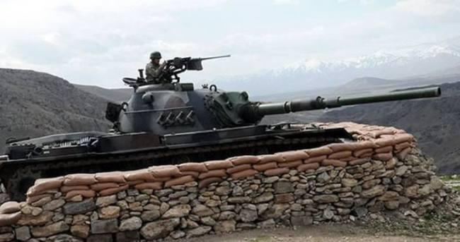 Askeri kaynaklar: YPG mevzilerinden ateşe karşılık verildi