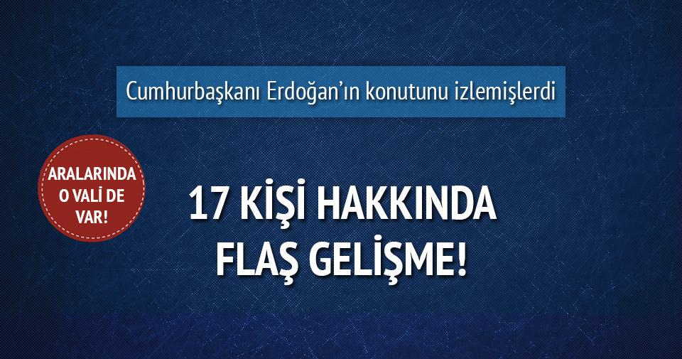 Erdoğan'ın konutunu izleten 17 kişiye tutuklama talebi