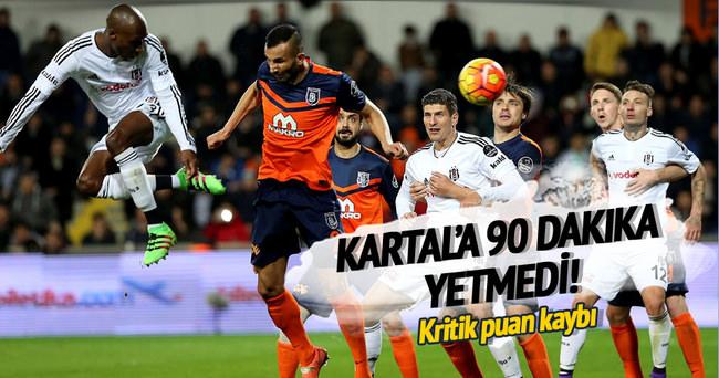 Beşiktaş'tan kritik puan kaybı